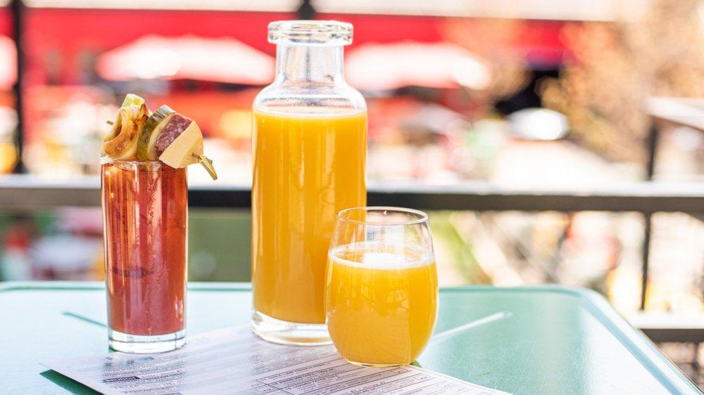 Recess Menus Bottomless Mimosa & Bloody Mary